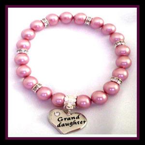 Grand Daughter Rose Pearl bracelet