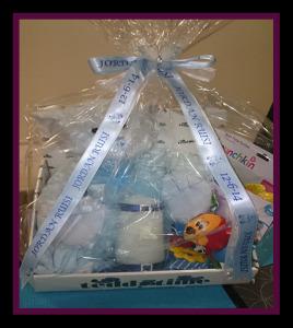 Personalised Baby Gift Ribbon