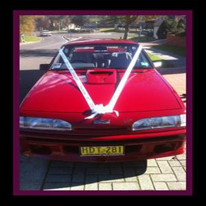 Personalised Bridal car ribbon (1)