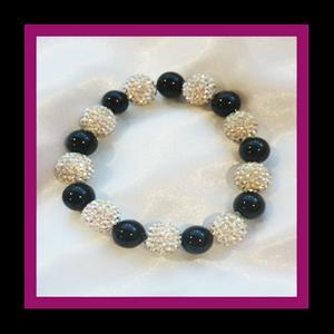 Rhinestone Disco Ball Bracelet